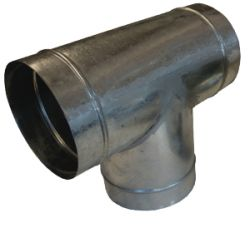 Aluminium 'T' Connector 125mm