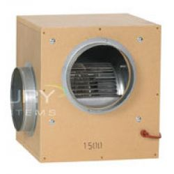 "Acoustic Box Fan - 315mm / 12"" - 2500m<sup>3</sup>/hour"